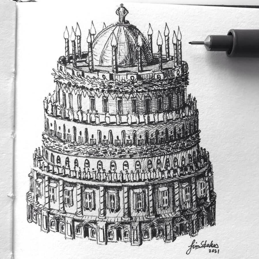 11-A-birthday-cake-building-Tim-Stokes-www-designstack-co