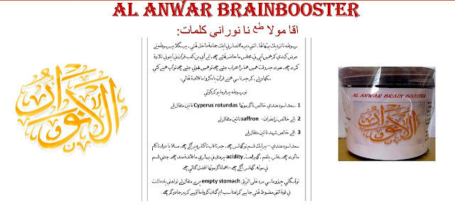 Al-Anwar Brain Booster :- Memory Booster