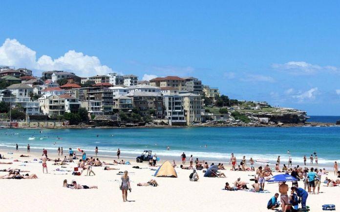 Temperature rise in Australia