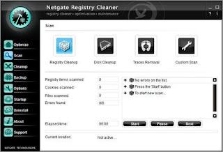 NETGATE Registry Cleaner 16.0.105.0 Full Version with Crack, Patch, Keygen Serial Key
