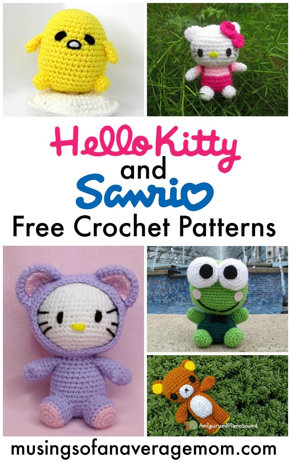 Crochet Hello Kitty Ballerina Amigurumi Free Pattern with Video ... | 1600x1005