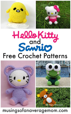 free Sanrio Crochet patterns