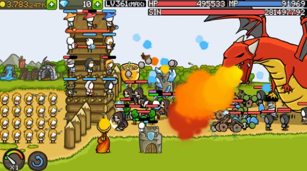 Download Grow Castle Mod Apk v1.15.3 ( unlimited coins ) For Android