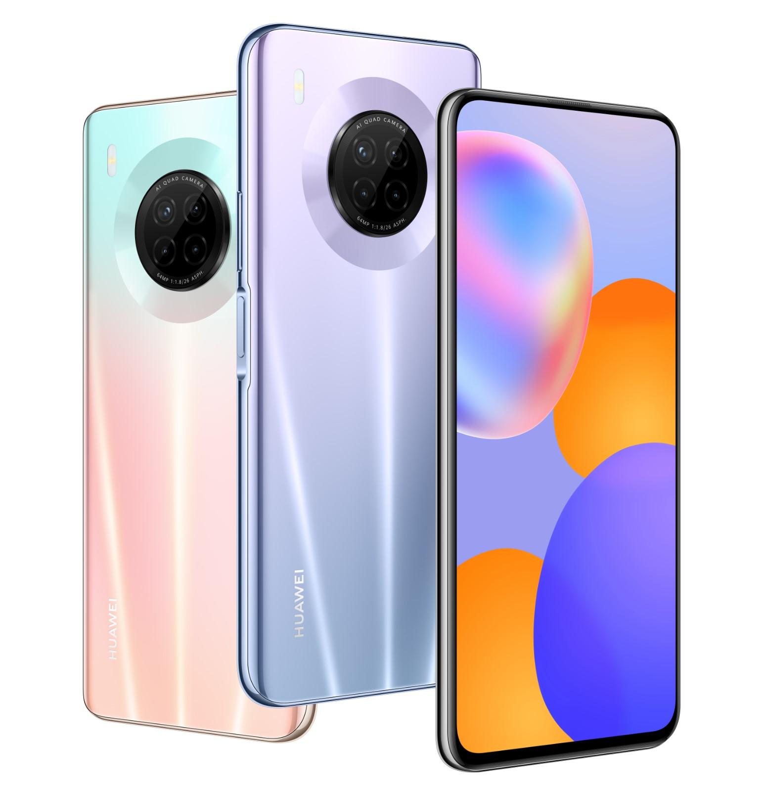 Huawei Y9a ofrece una experiencia visual icónica