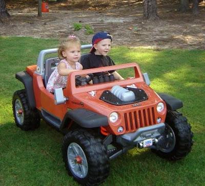 سيارة جيب حقيقية للاطفال