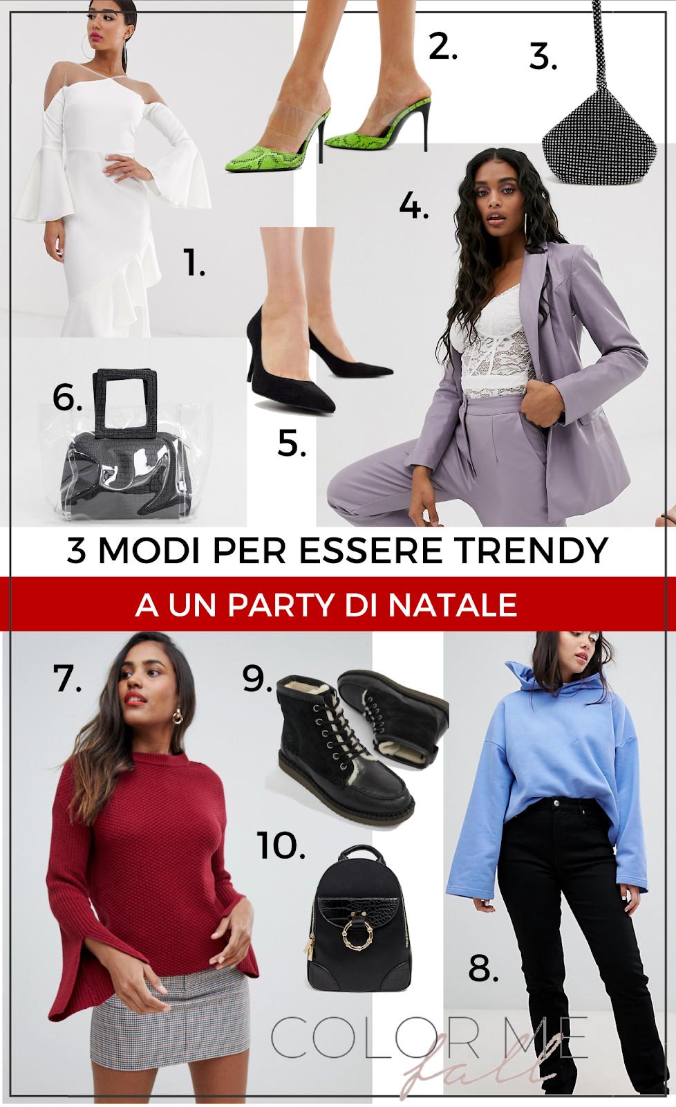 3 (E Più) Modi Per Essere Trendy A Un Party Di Natale