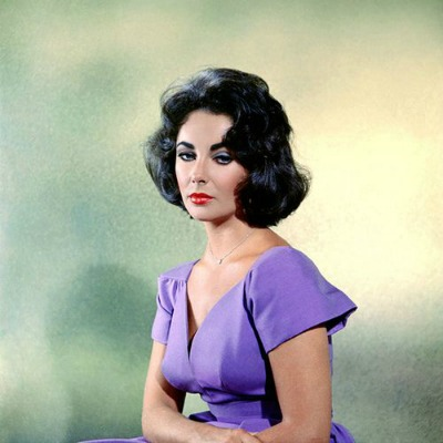 "Elizabeth Taylor in Portrait from 1959's ""Suddenly Last Summer"""