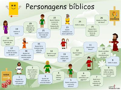 Jogos bíblicos para imprimir