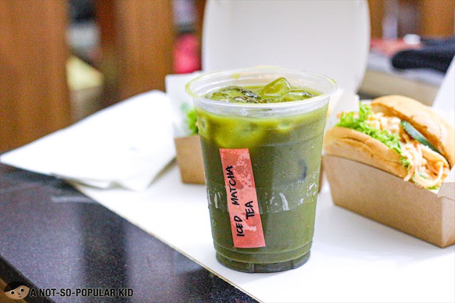 Iced Matcha Tea of Melonpan Philippines