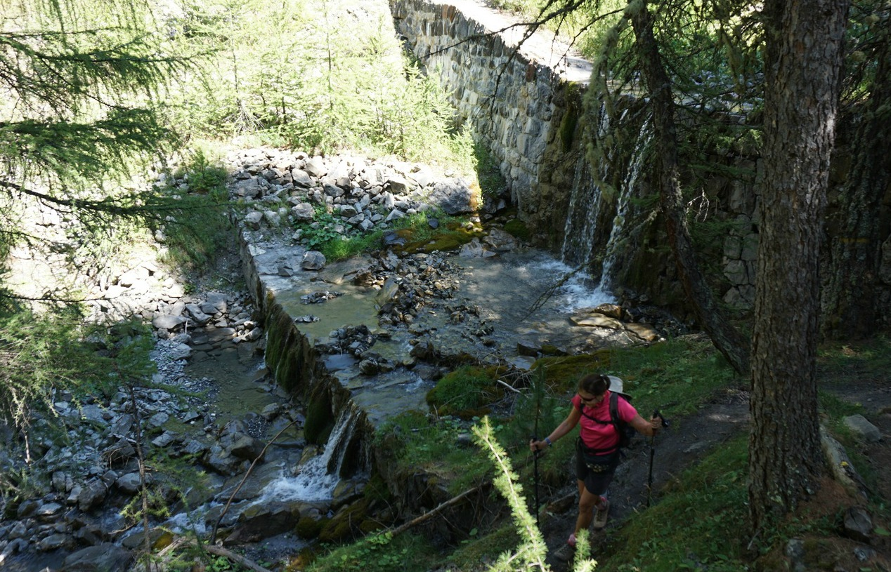 Chagnon Torrent above Vars