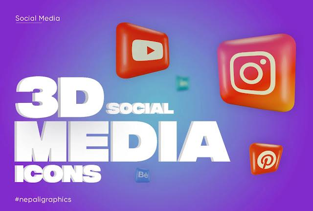 3d-social-media-illustrations