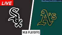 Chicago-White-Sox-vs-Oakland-Athletics-Playoffs