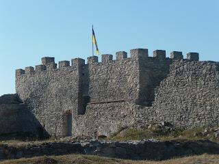 Кременець. Тернопільська обл. Замкова гора Бона і залишки фортеці