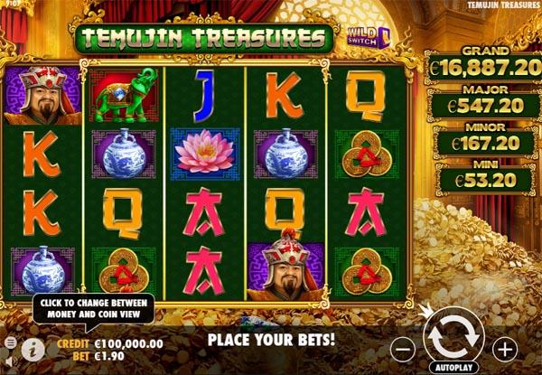 Main Gratis Slot Indonesia - Temujin Treasures Pragmatic Play