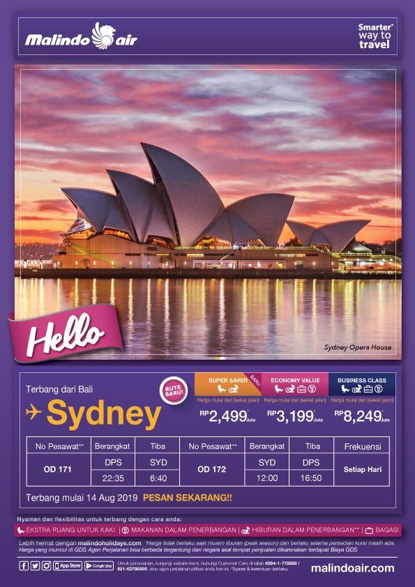 malindo air web check in sydney australia