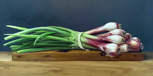 red onions, baby onions, still life