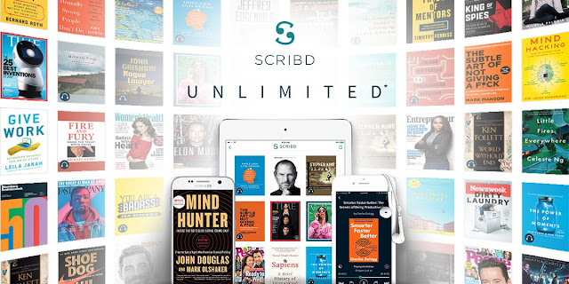 Dapatkan Akses Buku Digital Dan Audiobook Daripada Scribd Selama Sebulan Tanpa Kad Kredit