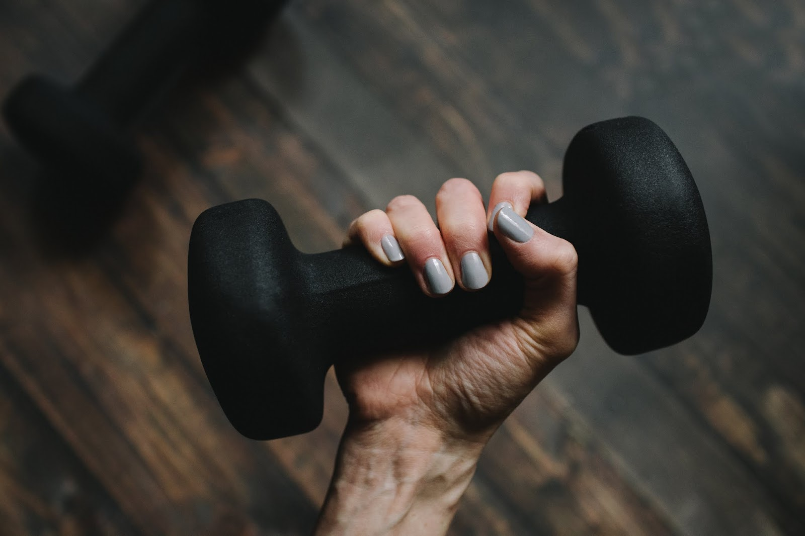 Hand weight workout