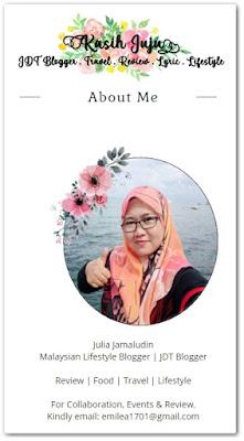 Sahabat blogger pilihan Starlavenderluna : Kasih Juju