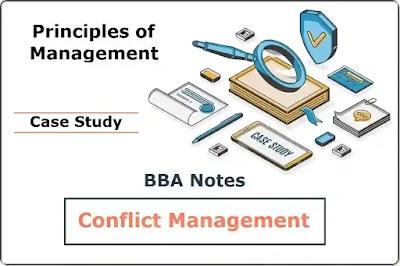 Conflict Management │ Case Study