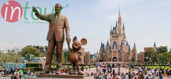 Vui chơi tại Tokyo Disneyland