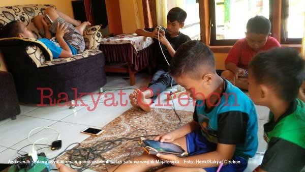 penyewaan wifi di majalengka diserbu anak-anak