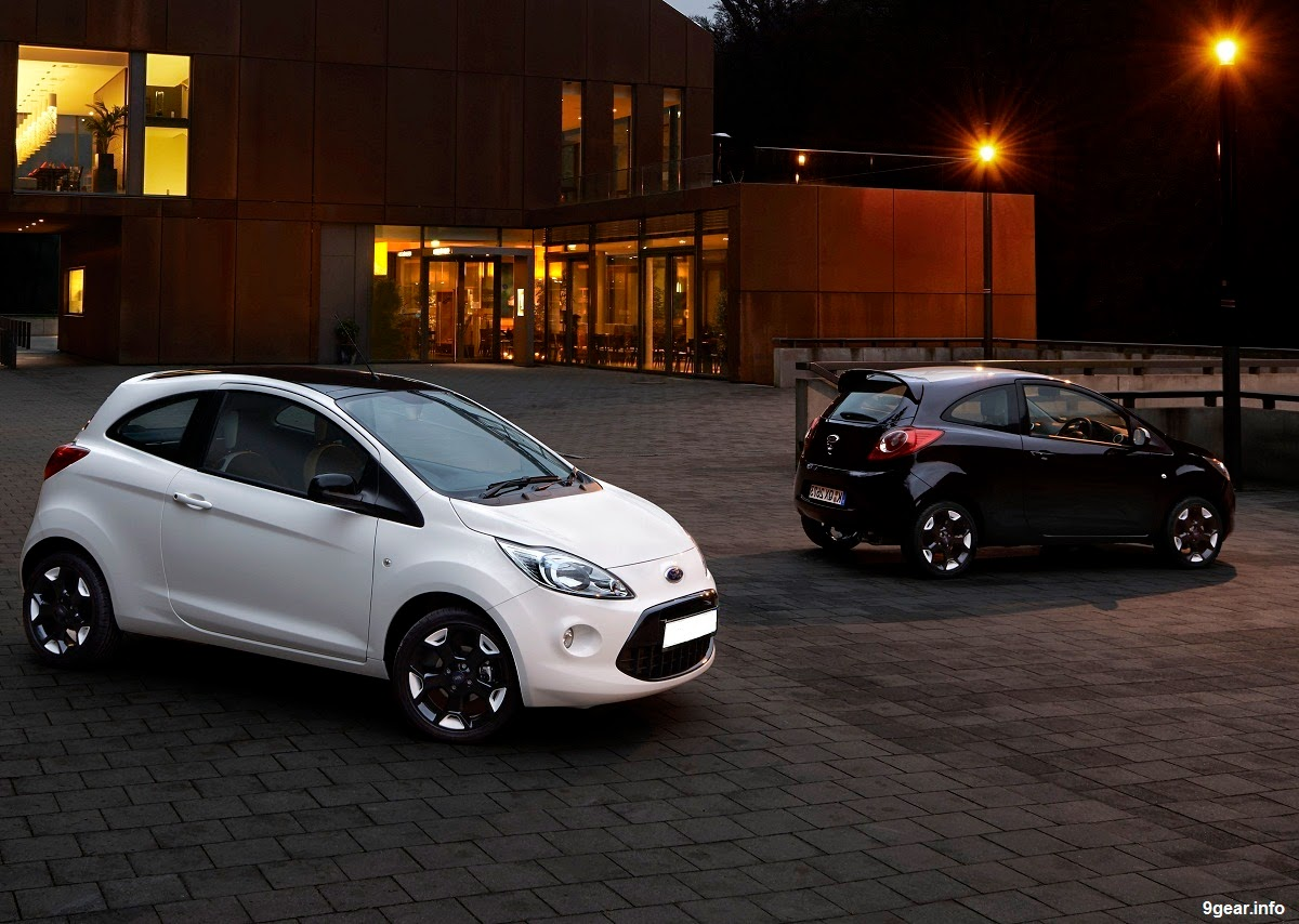 New Ford Ka Black And White Editions