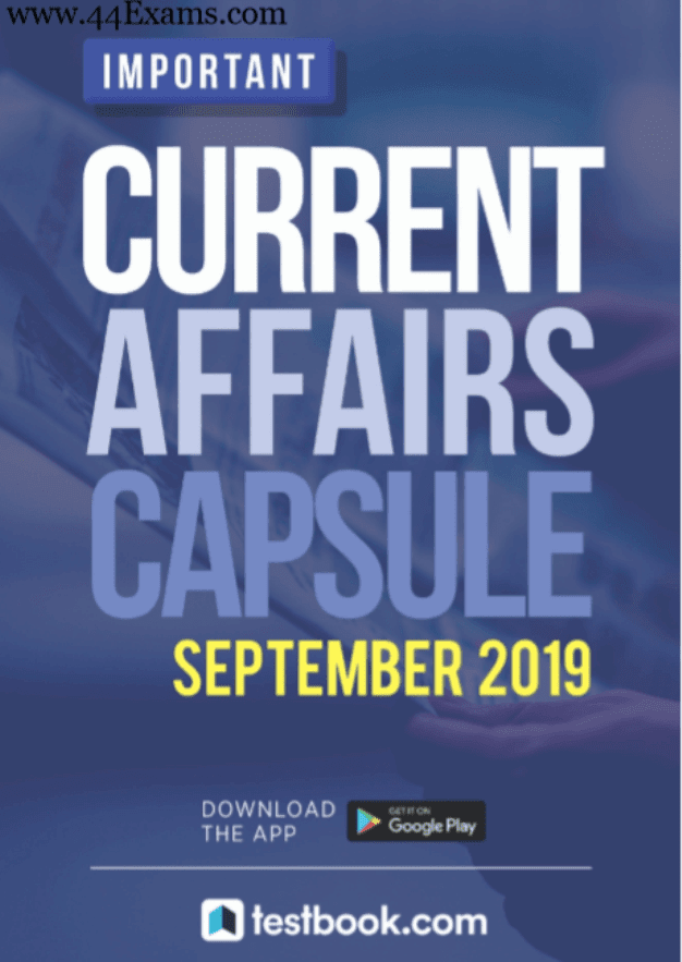 Testbook-Current-Affairs-September-2019-For-All-Competitive-Exam-PDF-Book