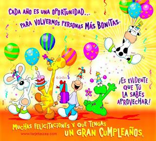 Postales De Cumpleaños Gratis Para Facebook