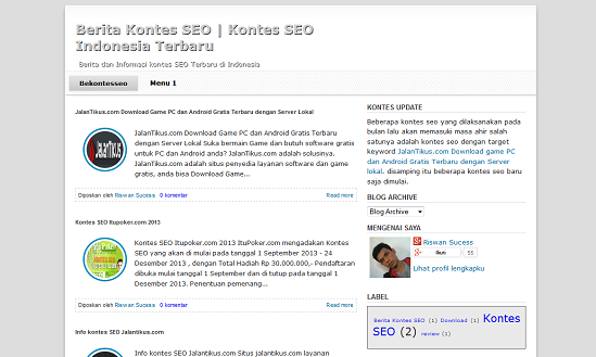 TEMPLATE BLOGSPOT SEO-FRIENDLY GRATIS