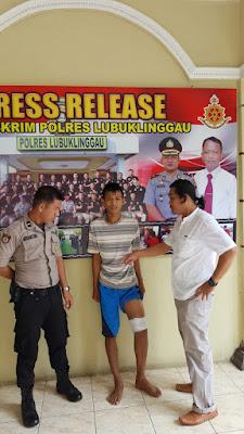 Renfil Bin Abu Samar Ditembak Buser