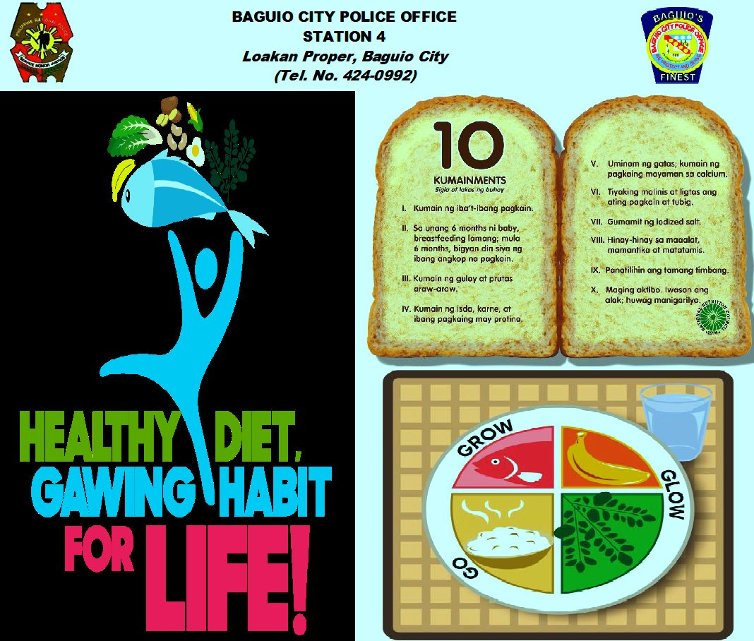 healthy diet gawing habit for life   philippin news