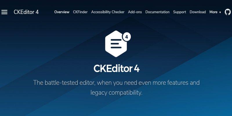 網頁最強的文字編輯器 CKEditor﹍安裝使用心得整理
