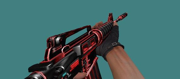 Skin M4A1 RedLine - CSPira!