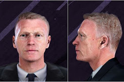 David Moyes Manager Face - PES 2020