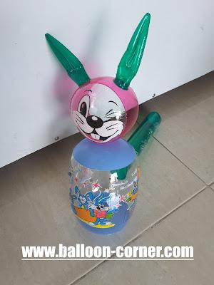 Mainan Tiup Palu Kepala Kelinci