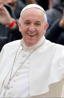 البابا فرانسيس أسقف الكنيسة الكاثوليكية في روما