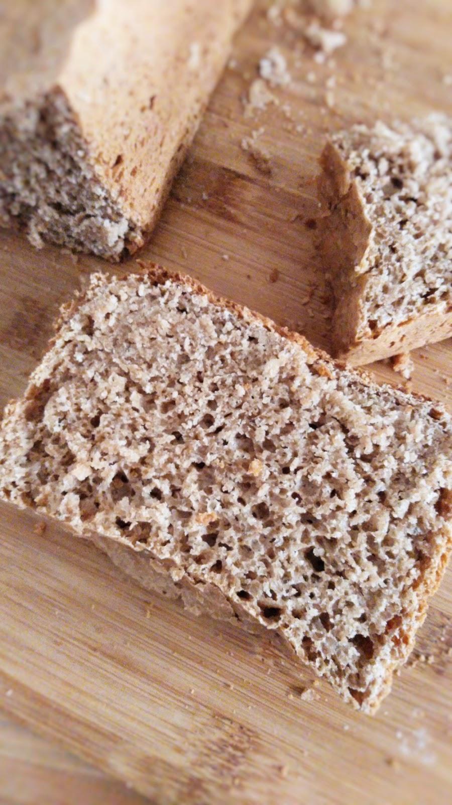 Receta de pan de molde de espelta