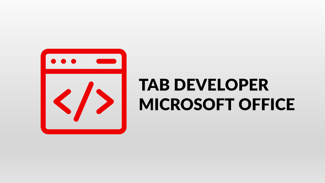 tab developer microsoft office