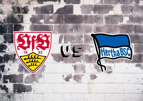 Stuttgart vs Hertha BSC  Resumen