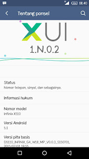 Custom Rom XIU For Infinix Hot 2