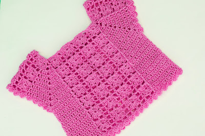 5 - Crochet Imagen Blusa de verano a crochet y ganchillo por Majovel Crochet