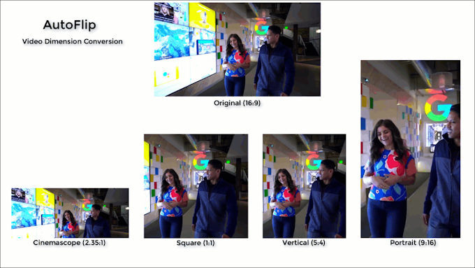 Google AI AutoFlip cuts your videos in different formats