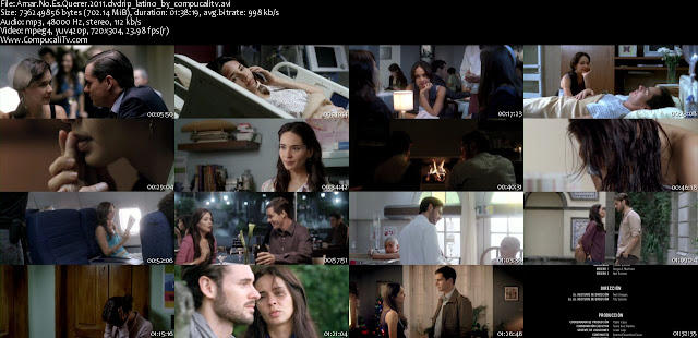 Amar no es Querer DVDRip Descargar Español Latino 1 Link 2011