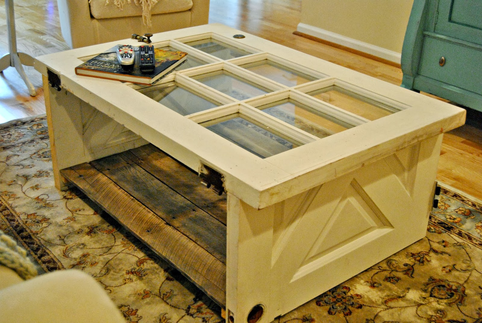{ Vintage Door Coffee Table } - The Painted Home by Denise ...