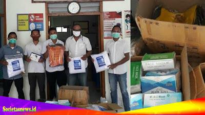 Keluarga Besar Lembor Jakarta Memberi Sumbangan APD Untuk Masyarakat Lembor Selatan
