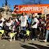 ΓΙΑ ΚΑΛΟ ΣΚΟΠΟ! Σκύλοι και άνθρωποι περπάτησαν στην Μαδρίτη...