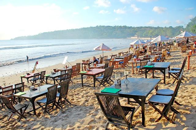 Enjoy best seafood at Jimbaran Bay bali, indonesia