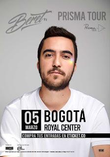 Concierto de BERET en Bogotá