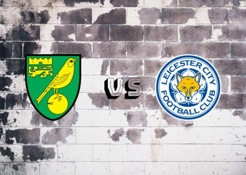 Norwich City vs Leicester City  Resumen